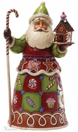 """Sweetest Santa"" H25cm Jim Shore Santa"