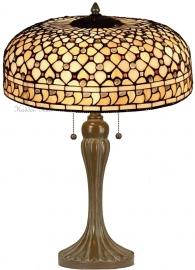 T021 Tafellamp Tiffany H65cm Ø45cm Mille Feux