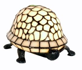 "5843 Tiffany lamp B22cm ""Schildpad Wit"""