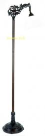 9458 Voet voor Vloerlamp  met 1 kap H164cm