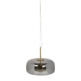 Hanglamp Glas Grijs Ø33cm  LED