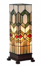 3085 Tafellamp Tiffany H35cm Miniwindlicht Imperial