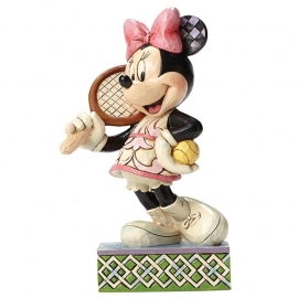 "MINNIE ""Tennis, Anyone?"" H15cm Jim Shore"