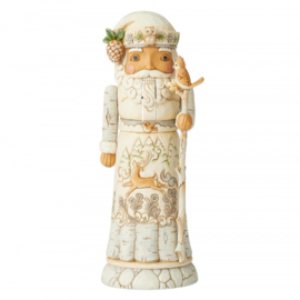 White Woodland Nutcracker H27cm Jim Shore 6004171