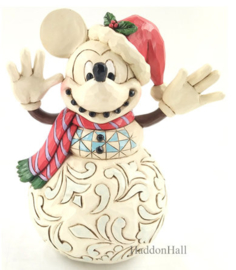 Mickey Mouse Snowman H17cm - Jim Shore 6008976
