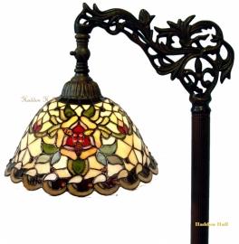 9114 9458 Vloerlamp H164cm met Tiffany kap Ø26cm