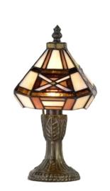 Tafellampje Tiffany H23cm 12x12cm 754