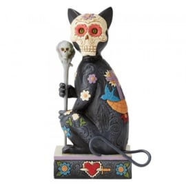 Day of the Death Cat H16,5cm Jim Shore 6004327 retired item