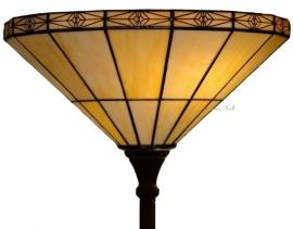 3088 Vloerlamp Tiffany H180cm met kap Ø40cm  Uplicht Serenity