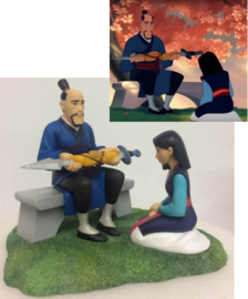 "MULAN Scene ""Gifts to Honour"" H15cm Enchanting Disney A29020"