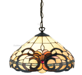 5924 Hanglamp Tiffany Ø40cm Marisco