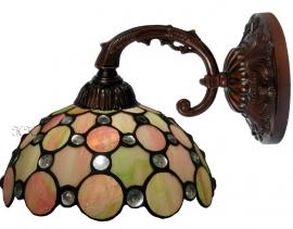 5797 8829 Wandlamp met Tiffany kap Ø25cm Pearl