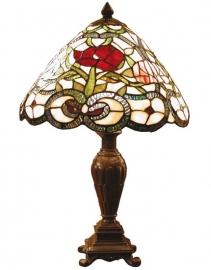 8837 Tafellamp Tiffany H47cm Ø32cm Appleby