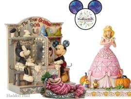 Event Pieces - Mickey 90th Gesigneerd , Cheshire Cat & Cinderella - Jim Shore