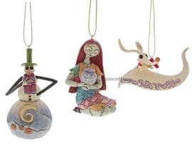 Nightmare - Set van 3 Hanging Ornamenten - Jim Shore NBC