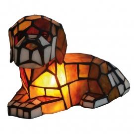 5674 Tiffany lamp B23cm  Hond
