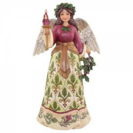 Jolly Holly Days  H 24cm Jim Shore Engel Victorian Angel 4058755