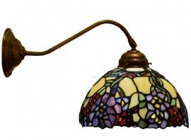 1103 410 Wandlamp met Tiffany kap Ø22cm Flores