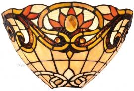 5778 Wandlamp Tiffany B30cm Schelpmodel Pendragon