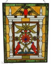 5830 Voorzetraam Tiffany 46 x 61cm Lydford meerkleurig