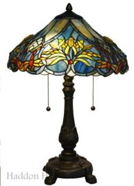 5678 Tafellamp H58cm Ø40cm Guldsmed