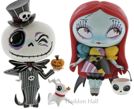 Nightmare Jack & Sally Set van 2 H18cm Miss Mindy