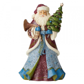 "Victorian Santa H25,5cm ""Sounds & Sights"" Jim Shore 6004179 retired item"