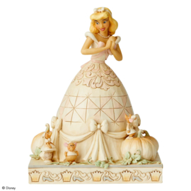 "Cinderella ""White Woodland"" H20cm Jim Shore 6002816"