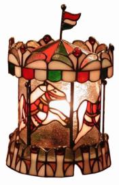 "Tiffany lamp H29cm Ø18cm  ""Draai molen"" X779"