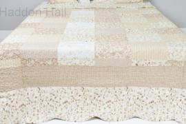 Q163 Clayre & Eef Bedsprei 140 x 220 cm Quilt Patchwork-style beddesprei
