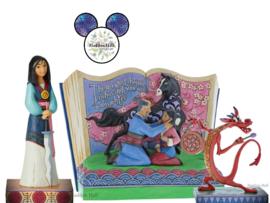 Mulan - Set van 3 beelden - Jim Shore