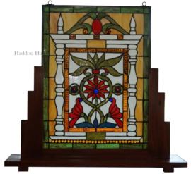 5830 Voorzetraam Tiffany op voet H70cm B74cm Lydford
