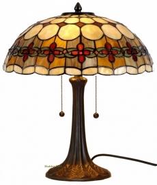 5416 9023 Tafellamp Tiffany H44cm Ø40cm Victoria