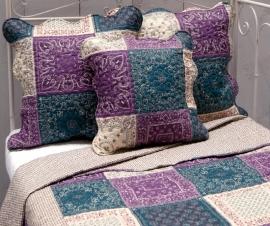 Q141 Clayre & Eef Bedsprei 260 x 260 cm Quilt Patchwork-style