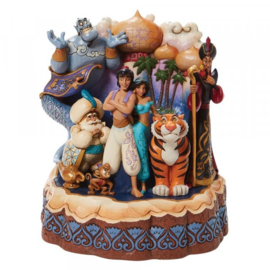 Aladdin Carved by Heart H19,5cm Jim Shore 6008999 op voorraad