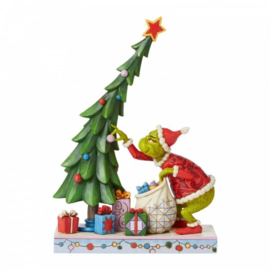 Grinch Undecorating Tree H26,5cm Jim Shore 6008886