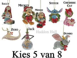 Hanging Ornaments - Kies 5 van 8  - H7cm - Jim Shore