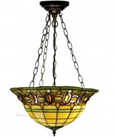 """5805 SU3 Hanglamp Tiffany Ø40cm  """"Olive"""""""