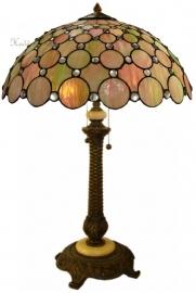 "5799 5298 Tafellamp Tiffany H75cm Ø51cm ""Pearl"""