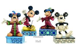 Mickey Set van 4 Jim Shore uit 2013
