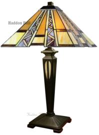 T4 TB20M Tafellamp Tiffany H54cm 40x40cm Serpentines
