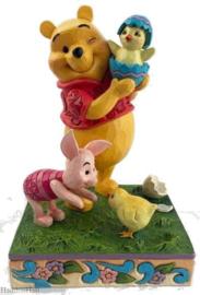 Winnie The Pooh & Piglet Easter H14cm Jim Shore 6010103