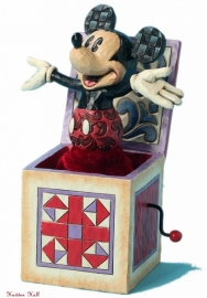 MICKEY In-the-Box H 14cm  Jim Shore 4027950 uit 2013