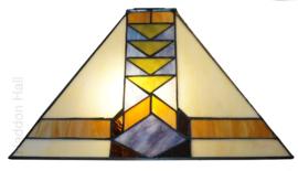 7855 Kap Tiffany 37x37cm Pyramide
