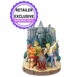 """Scooby Doo """"Frightful Friends"""" H22cm Carved by Heart Jim Shore 6005978"""