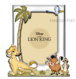 Lion King fotolojst 13x18cm - Verzilverd