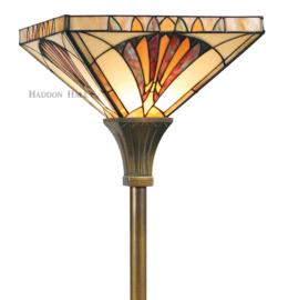 LPF10271 Vloerlamp H180cm Met Tiffany kap 36x36cm