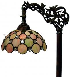 "5797 9458 Vloerlamp H164cm met Tiffany kap Ø25cm ""Pearl"""