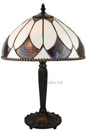 74318 Tafellamp Tiffany H47cm Ø30cm Aragon