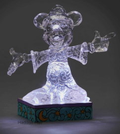 "MICKEY ""Sorcerer  Illuminated "" H13,5cm Jim Shore 4059926"